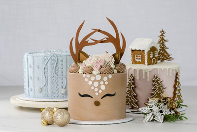 Beautiful selection of artisan crafted buttercream cakes by Chef Julie Montgomery. (CNW Group/La Rocca Creative Kitchen)