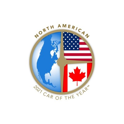 2021 North American Car of the Year logo.