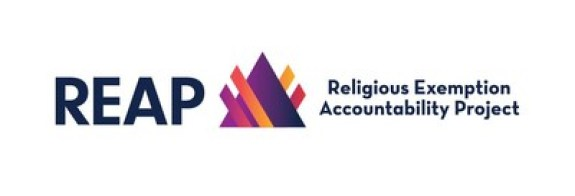 The Religious Exemption Accountability Project (REAP) and College Pulse have joined forces to identify how anti-LGBTQ+ culture is affecting students at Christian colleges. (Image credit: REAP)