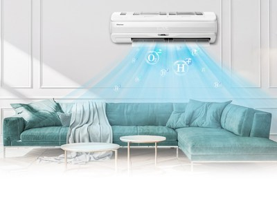 Hisense Fresh Master air conditioner equipped with HI-NANO technology is to go on sale in multiple European markets in May 2021.