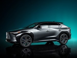 Toyota has introduced the concept of a fully electric SUV