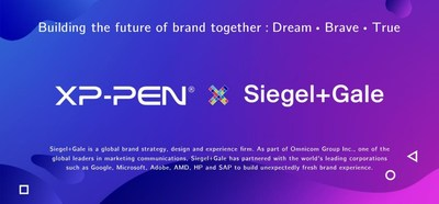 XP-PEN and Siegel+Gale's cooperation aims to build the future of brand together
