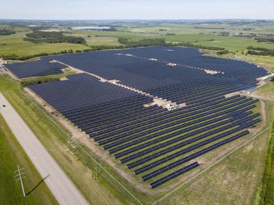 GP Joule 25-MW Merchant Solar Plant in Alberta, Canada