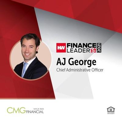 AJ George honored as HousingWire Finance Leader