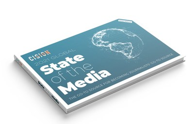 Cision's 2021 State of the Media Report (APAC Edition) (PRNewsfoto/Cision Ltd)