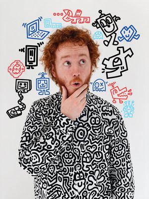 Mr Doodle 宣布发布他的第一个 NFT 艺术作品:ESC