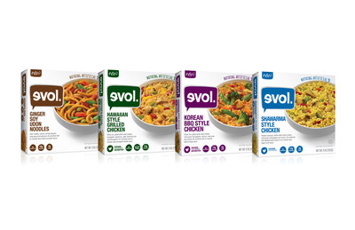 Evol Foods Delivers Bold International Flavors In Four New
