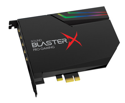 Sound BlasterX AE-5 PCIe Sabre Class Gaming DAC with Discrete Headphone Amp