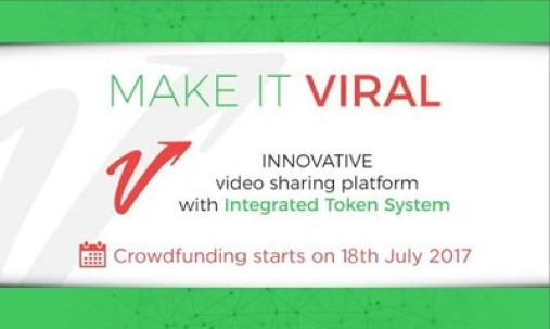 'Make It Viral' Announces Crowdfunding for Revolutionary Blockchain-Based Video Sharing Platform