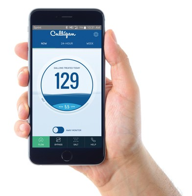 The Culligan Connect™ Wi-Fi mobile app aims to revolutionize the current state of smart homes and water monitoring by giving homeowners the freedom to control their water softening system. Not only can users conserve water and energy by tracking water usage, but they can also bypass treated water for outdoor cleaning and watering applications. What's more, the smart system sends push notifications when salt supplies are low and alerts users of unexpected water flow when away.