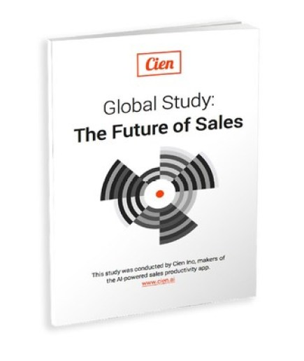 Cien's app gives sales leaders an edge by using the power of artificial intelligence to increase the productivity of their teams.