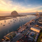 Photo credit: Luke Tyree. Check out Morro Bay's first Concerts on the Bay series, literally on the dock of the bay between Giovanni's Fish Market and STAX Wine Bar with the iconic Morro Rock as a backdrop.