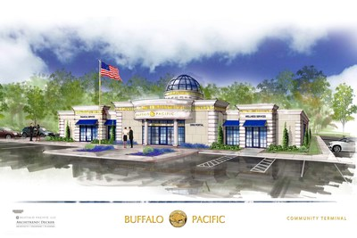 "Buffalo Pacific proudly showcases the Community Portalâ""¢. A unique combination of financial services, health/wellness care, and educational delivery. By deploying our Omni-Seriesâ""¢ technology we bring together specialized experts to meet customer, patient and student demand. With plans to deploy 10,000 locations within 10 years starting with the 1st Portal coming online in 2017, BP will energize communities around the country and bring a truly unique and recognizable resource to the to the citi (PRNewsfoto/Buffalo Pacific, LLC)"