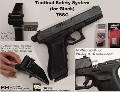 Stops Unintentional Discharge of the Glock Pistol