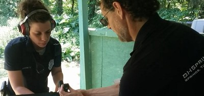 BHSpringSolutions LLC installing the Tactical Safety System for Glock on Law Enforcement Service Pistols