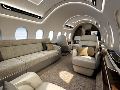 AS2 interior carries 12 in large-business-jet comfort up to 5,400 nautical miles (6,215 statute miles/10,000 km). Max. cruise speed is Mach 1.4, about 55 percent faster than today's fastest commercial jets, at a speed greater than 1,000 mph/1,600 kph. The AS2 saves as much as three hours across the Atlantic and more than five hours across the Pacific. Aerion is working with Lockheed Martin and GE Aviation to develop the AS2.