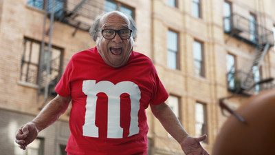 Watch an M&M Become Danny DeVito in Candy's Super Bowl Spot
