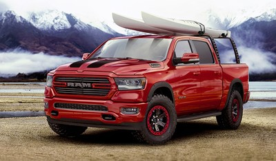 Mopar Preps 2019 Ram 1500 for Adventure