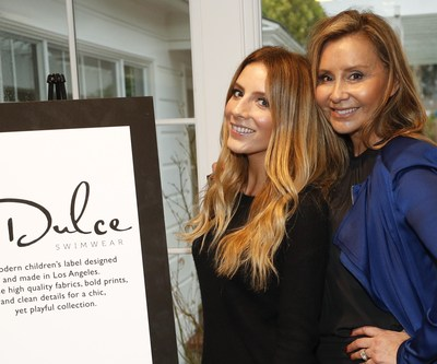 Dulce Designer Natalie Stowell and Lola Debney at Education Through Music-LA's 4th Annual Music & a Makeover Event, March 10, 2018. etmla.org Photo Credit: Danny Moloshok
