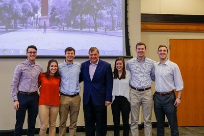 Kowalczuk once again joined by ambitious University of Alabama MBA students who spoke one-on-one with the Canon Solutions America executive about his path to success and becoming a leader.