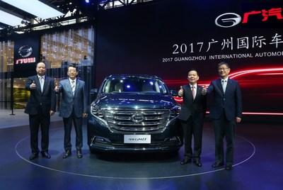 GAC Motor's first minivan GM8 makes its debut at 2017 Guangzhou International Automobile Exhibition