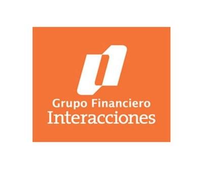 Grupo Financiero Interacciones Logo