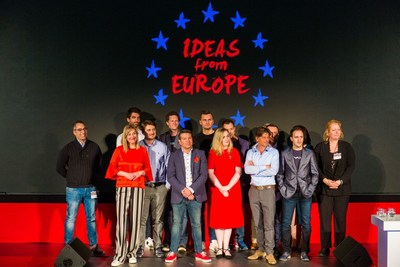 Finalists Ideas From Europe 2018, Hall of Knights, The Hague, The Netherlands (Twycer photography) (PRNewsfoto/Micreos)