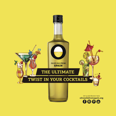 Give all your cocktails the ultimate twist of texture, aroma and flavor with Olive Oils from Spain