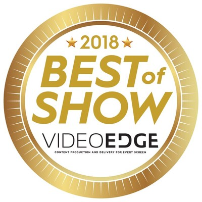 Concurrent wins 2018 Best of Show by Video Edge (CNW Group/Concurrent Technology Inc.)