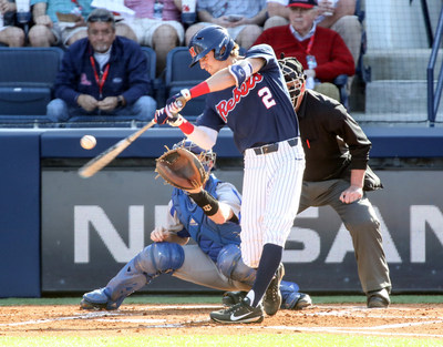 Ole Miss outfield Ryan Olenek, who is leading the SEC in hitting with a .382 batting average, was the top vote getter and winner of the fan voting segment of the 2018 C Spire Ferriss Trophy, which annually honors the top college baseball player in Mississippi.