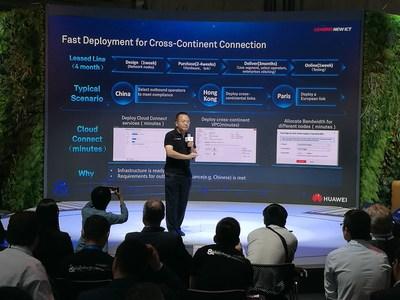 Huawei's Cloud Connect showcase