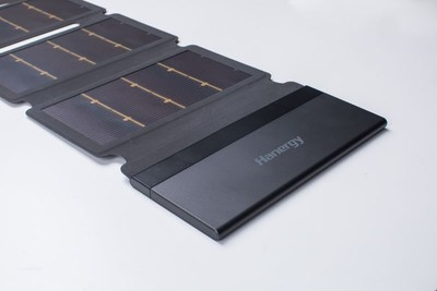 Hanergy's solar paper charger