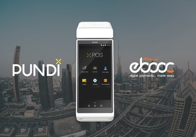 """The bespoke, Pundi X POS (""""point of sale"""") device created for ebooc fintech & loyalty labs for the exclusive use of emcredit with their branding will be dedicated to running a stable, digital equivalent of the UAE dirham (AED)."""