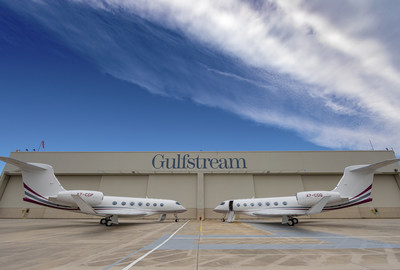 Gulfstream made the first two international deliveries of the new G500 aircraft.