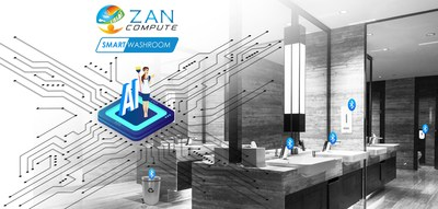 Zan Compute brings artificial intelligence to existing washrooms and makes them smart washrooms.