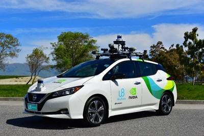WeRide's latest L4 autonomous driving vehicle, Nissan LEAF 2