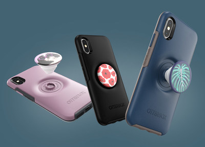 Otter + Pop is available in the classic Defender Series and sleek Symmetry Series case designs, offering two protective options that easily swap with any PopTop.