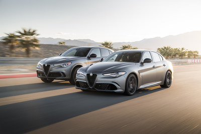 Limited 2019 Alfa Romeo Quadrifoglio NRING Editions for North America unveiled at New York Auto Show.