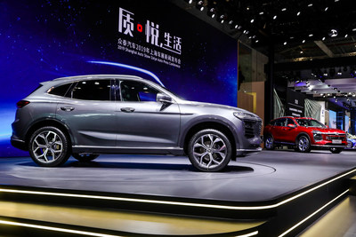 Zotye Automobile Company T600 CUV debut at Shanghai Motor Show April 16, 2019
