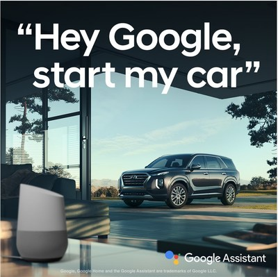 "Hyundai Streamlines Integration with the Google Assistant - Remote voice control made even simpler - ""Hey Google, lock my car."" - Demonstrations take place at Google I/O"