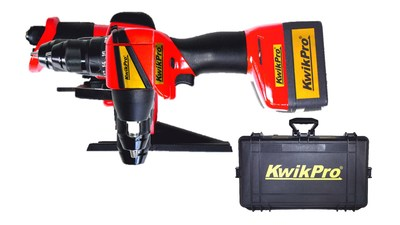 KwikPro: is the power tools equivalent of a multi-function army knife or pocket multi-tool in one easy-to-carry case
