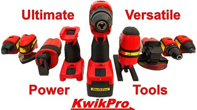 KwikPro: the world's most versatile power tool system gets jobs done faster.