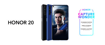 HONOR 20 and Dele Alli, HONOR UK Brand Ambassador