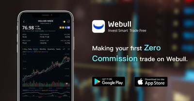 Make your first zero commission trade on Webull