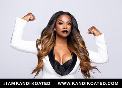 Kandi Burruss Launches Kandi Koated Luxury Cosmetics Collection