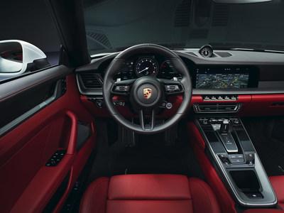 2020 911 Carrera Cabriolet Interior