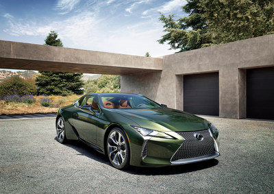 The Lexus LC 500 adds another layer of sophistication this year with the introduction of the limited-edition 2020 Inspiration Series.