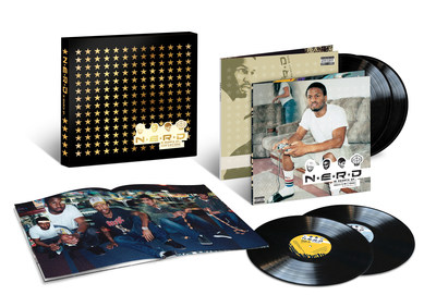 "N*E*R*D's 'In Search Of…' revisited for Urban Legends' new deluxe 4LP vinyl edition pairing acclaimed album's original 2001 European ""Electronic Version"" with its 2002 worldwide ""Rock Version."" New deluxe digital edition for album's ""Electronic Version"" adds rare tracks, including three previously unreleased in the U.S."