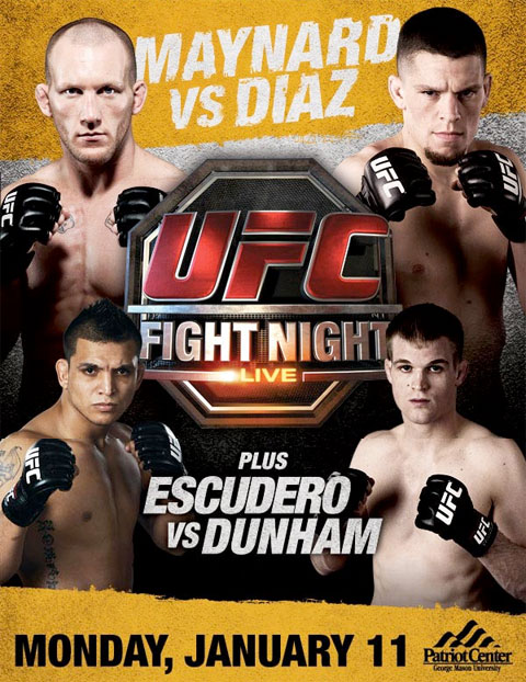 Poster UFC Fight Night 20