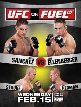 Pôster do UFC On FUEL TV 1